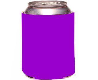 Rikki KnightTM Purple Color Design Design Drinks Cooler Neoprene Koozie Kitchen & Dining