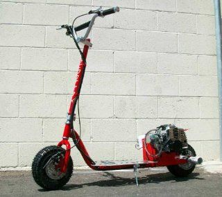 ScooterX Dirt Dog 49cc Gas Scooter * Can ride doubles and do stunts : Sports Scooters : Sports & Outdoors