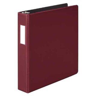 Wilson Jones Heavy Duty D Ring Binder, 1.5 Inch Capacity, Dark Red (W384 34CPP)  Office D Ring And Heavy Duty Binders