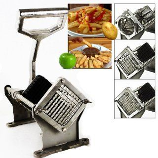 NEW Commercial Grade Potato Cutter Fruit Slicer French Fry Slicing Machine: Kitchen & Dining