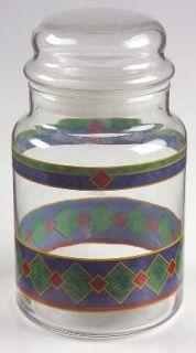 Pfaltzgraff Amalfi Classic Glassware Candy Jar & Lid, Fine China Dinnerware   Na