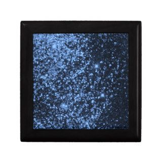 COOL ROYAL BLUE BLACK SPARKLE GLITTER BACKGROUND P JEWELRY BOXES