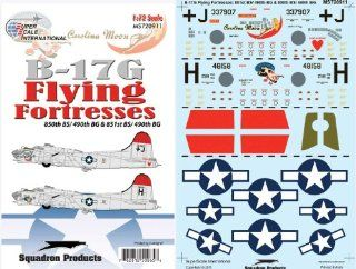 B 17 G Flying Fortress 409, 490 BG (1/72 decals, Superscale 720911) Toys & Games