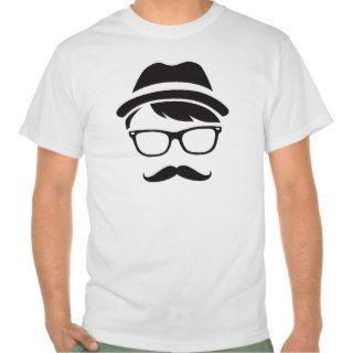 Hipster Gentleman Mustache Shirt