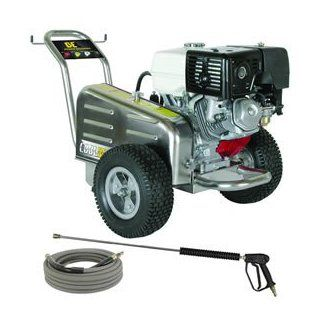 BE Professional 4000 PSI Belt Drive (Gas Cold Water ) Pressure Washer w/ Honda Engine   CD 4013HWBSCOMA  Patio, Lawn & Garden