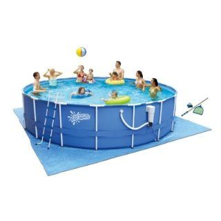 Summer Escapes 17 x 48 Above Ground Metal Frame Pool  Swimming Pools  Patio, Lawn & Garden