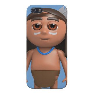 3d Indian Brave stands proud iPhone 5 Cover