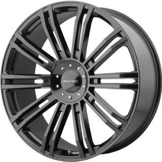 KMC KM677 20x8.5 Black Wheel / Rim 6x135 & 6x5.5 with a 10mm Offset and a 106.25 Hub Bore. Partnumber KM67728567310: Automotive