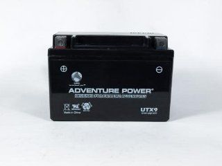 Compatible Honda Scooter Sealed Lead Acid Battery, Replaces Part Number UTX9 ER. Fits Models: Honda Blaze Year: 2003 Engine Size: 440, Cannibal Year: 2003 Engine Size: 440, Moto 440 Year: 2003 Engine Size: 440, Speed Year: 2003 Engine Size: 440, CXL 150 Yu
