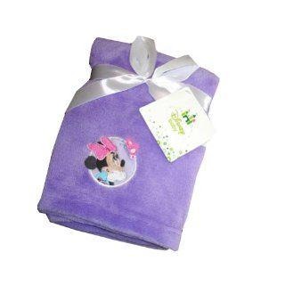 "Disney Minnie Mouse Baby Soft Plush Blanket 30"" X 36""  Nursery Blankets  Baby"