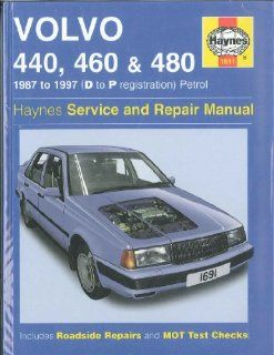 Volvo 440, 460 and 480 Owners Workshop Manual (Service & repair manuals) A. K. Legg 9781850106913 Books