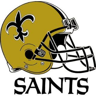 New Orleans Saints Team Logo Transfers Rub On Stickers/Tattoos (3 Pack) : Sports Related Collectibles : Sports & Outdoors