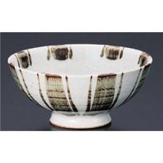 rice bowl kbu464 37 092 [5.52 x 2.45 inch] Japanese tabletop kitchen dish Rice bowl farm product Edo ten grass hair fee [14 x 6.2cm] inn restaurant tableware restaurant business kbu464 37 092: Kitchen & Dining