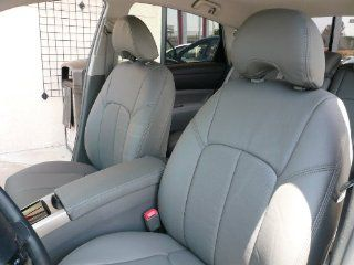 2012 2013 Toyota Camry L / Le   Light Gray   Clazzio Leather Seat Covers: Automotive
