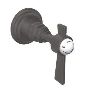 JADO Savina 0.5 in. Single Handle Wall Valve in Old Bronze with Lever Handle 845.820.105
