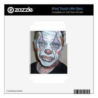 Sad Clowns Scary Clown Face Painting iPod Touch 4G Skins