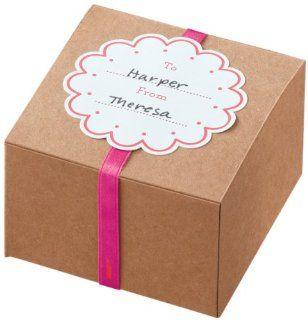Martha Stewart Crafts Vintage Girl Kraft Treat Boxes