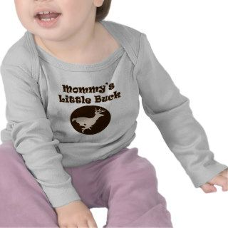 Cute Boys Hunting Mommys Little Buck T Shirts