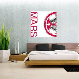"""30 Seconds to Mars Beautiful Lie Wall Graphic Decal Sticker 23"""" x 23""""   Wall Decor Stickers"""