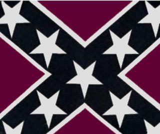 Pack Of 3 Burgandy Rebel Confederate Flag Bandannas / Bandana Headbands : Sports Headbands : Sports & Outdoors