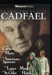 Brother Cadfael, Set 1 (One Corpse Too Many / The Sanctuary Sparrow / The Leper of St. Giles / Monk's Hood): Derek Jacobi, Sean Pertwee, Peter Copley, Michael Culver, Julian Firth, John Bennett, Sarah Badel, Tara Fitzgerald, Susan Fleetwood, Jonathan H