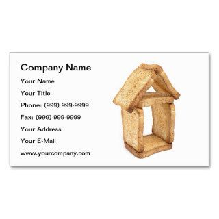 House of bread business card templates