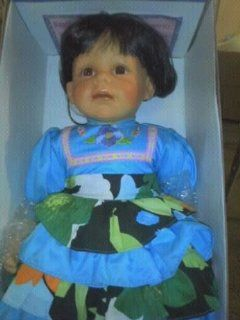 "Limited Edition Royal Cathay Collection Porcelain Doll #481 ""Carmen"" 21"""
