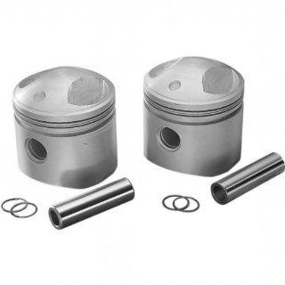 """Drag Specialties Piston Kit (80ci., 3.498"""" Bore)   .040 Oversize, 7.21 Low Compression 750734LC BX LB1 Automotive"""