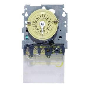 Intermatic T100 Series 40 Amp 125 Volt SPST Time Switch Mechanism T101MD89