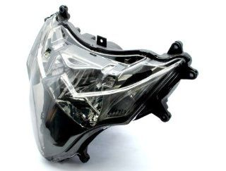 Clear Motorcycle Racing HeadLight Streetfighter Signal Fit For Suzuki 2009 2012 GSXR1000 GSX R1000 GSXR GSX R K9: Automotive