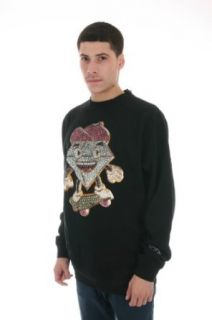 Diamond Supply Lil Cutty x Ben Baller Crewneck Top In Black (C13 P507 Black) at  Men�s Clothing store