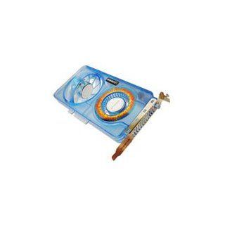 Cables Unlimited System Slot Fan Dual Fan Translucent Blue with Red LED Azenx Industrial & Scientific