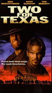 Two for Texas [VHS]: Kris Kristofferson, Scott Bairstow, Irene Bedard, Tom Skerritt, Peter Coyote, Victor Rivers, Tom Schuster, Rodney A. Grant, Marco Rodr�guez, Karey Green, Richard Andrew Jones, Richard Nance, David Connell, Rod Hardy, Michael D. Ornstei