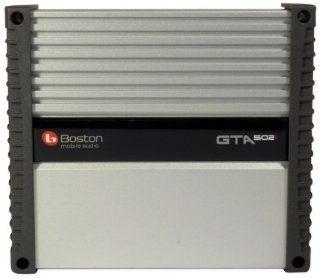 Boston Acoustics Gta 502 160 Watt RMS GTA Series 2 Channel Class Ab Car Amplifier  Vehicle Multi Channel Amplifiers