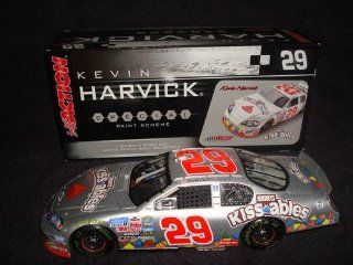 2006 GM Dealers Edition Kevin Harvick #29 GM Monte Carlo Hersheys Kissables 1/24 Scale Diecast Opening Hood Opening Trunk Action Racing Collectables Limited Edition Only 504 Made Toys & Games
