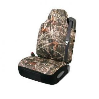 MAX 4 Camo Bucket Seat Cover Universal Neoprene DU Logo: Automotive
