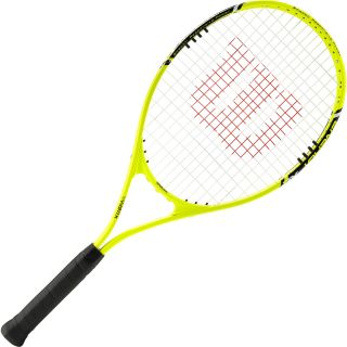 WILSON Energy XL Tennis Racket   Size: 4 1/4 Inch (2)112, Blue Jet/yellow
