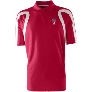 Antigua Mens Point Polo w/ Sugar Bowl Alabama Crimson Tide Logo   Size: