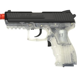HK P30 AEG Clear Electric Airsoft Pistol, Clear