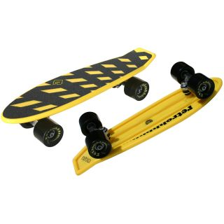 Atom 21 Mini Retroh Molded Skateboard   Choose Color, Yellow (91060)