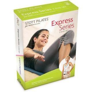 STOTT PILATES Express Series 3 DVD Set   New (DV 81204)