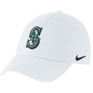 NIKE Mens Seattle Mariners MLB Stadium Cap 3.0, White