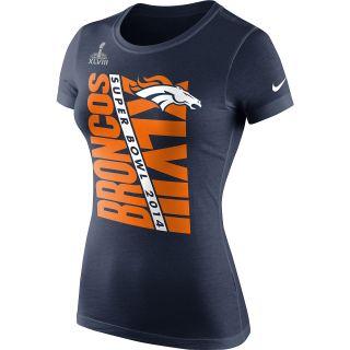 NIKE Womens Denver Broncos 2013 Super Bowl Bound Billboard Graphic Short