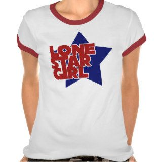 Lone Star Girl Tee Shirt