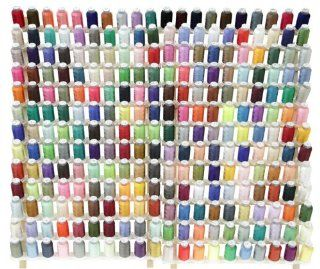 Complete Set KOLORS BRAND 260 Different Colors Embroidery Machine Thread Polyester + Christmas Collection Embroidery Designs CD