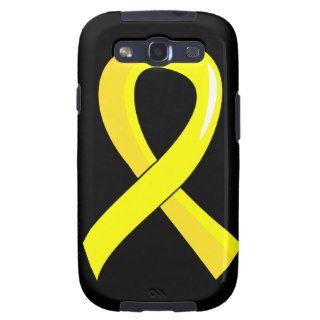 Bladder Cancer Yellow Ribbon 3 Galaxy S3 Covers