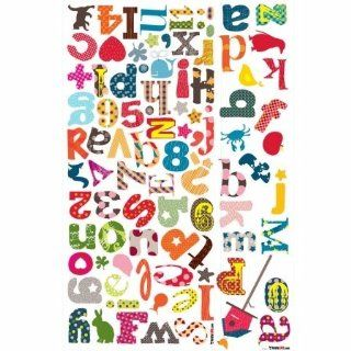 RoomMates HS60003 Kids Lab   Colorful Alphabet Wall Decals   Childrens Wall Decor