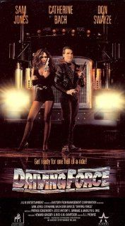 Driving Force [VHS] (1989): Sam J. Jones, Catherine Bach, Don Swayze, Stephanie Mason II, Ancel Cook, Gerald Gordon II, Renata Scott, Robert Marius, Billy Blanks, Harold U, Marilyn Bautista, David Kater, Luis Del Castillo III, Peter Kniaseff, Nick Whiley,