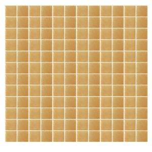 EPOCH Spongez S Light Brown 1409 Mosaic Recycled Glass 12 in. x 12 in. Mesh Mounted Floor & Wall Tile (5 sq. ft.) S LIGHT BROWN 1409