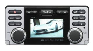 Clarion CMV1 DVD/CD/MP3/WMA Receiver with USB Port : Vehicle Dvd Players : Car Electronics